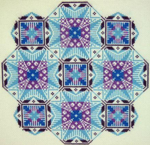 Kaleidecopes ~ K1 - Gracewood Stitches Counted Cross Stitch Pattern
