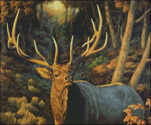 Autumn Majesty Counted Cross Stitch Pattern