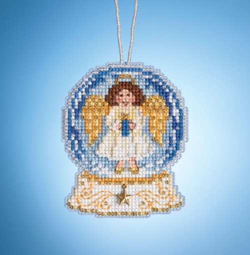 Angel Globe - Mill Hill Snow Globes Charmed Ornaments