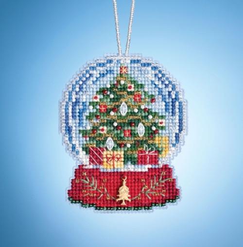 Christmas Tree Globe - Mill Hill Snow Globe Charmed Ornaments