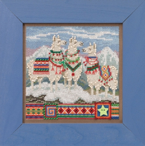 Fa, La, La Llamas - Mill Hill Buttons & Beads Winter Series