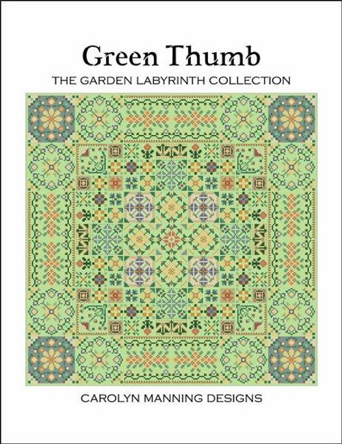 Green Thumb Counted Cross Stitch Pattern