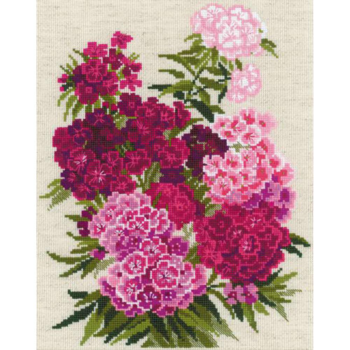 Sweet William - Riolis Counted Cross Stitch Kit