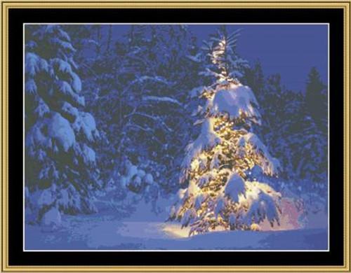 Christmas Lights - Mystic Stitch Counted Cross Stitch Pattern