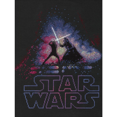 Star Wars™ Luke & Darth Vader™ - Dimensions Counted Cross Stitch Kit