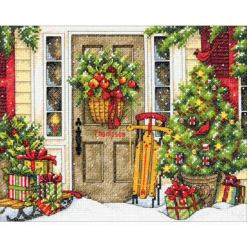 Home for the Holidays - Dimensions Counted Cross Stitch Kit