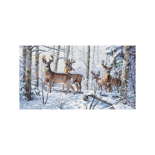 Woodland Winter - Dimensions - The Gold Collection Counted Cross Stitch Kit