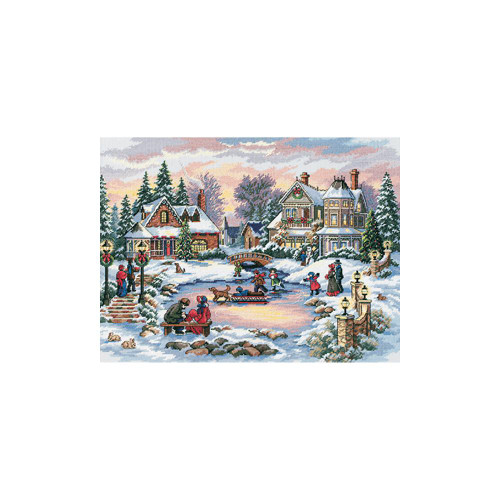 A Treasured Time - Dimensions - The Gold Collection Counted Cross Stitch Kit