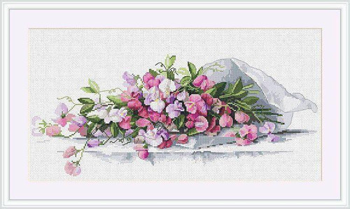 Sweet Pea - Merejka Counted Cross Stitch Kit