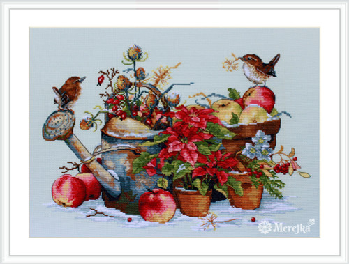 December - Merejka Counted Cross Stitch Kit