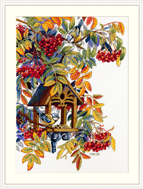 Colorful Rowan - Merejka Counted Cross Stitch Kit