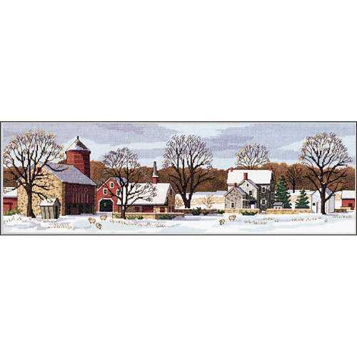 Scenic Farm - Dimensions Counted Cross Stitch Kit