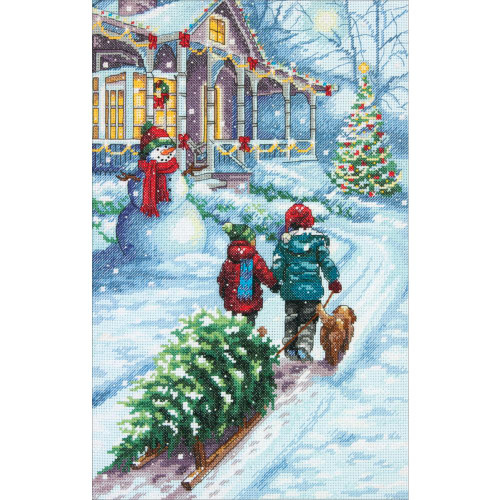 Christmas Tradition - Dimensions Counted Cross Stitch Kit
