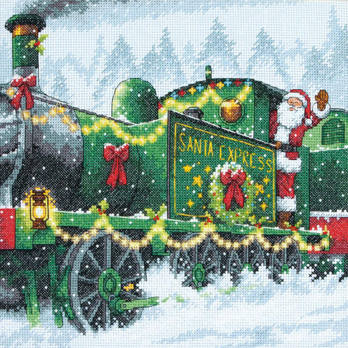 Santa Express - Dimensions Counted Cross Stitch Kit