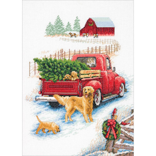 Winter Ride - Dimensions Counted Cross Stitch Kit