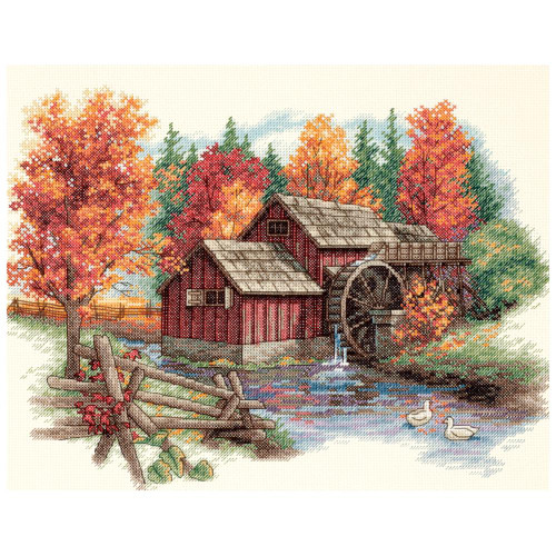 Glory of Autumn - Dimensions Counted Cross Stitch Kit