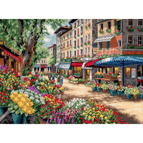Paris Market - Dimensions - The Gold Collections Counted Cross Stitch Kit