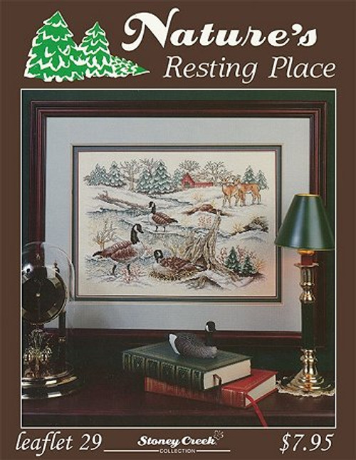 Resting Place Stoney Creek Counted Cross Stitch Pattern