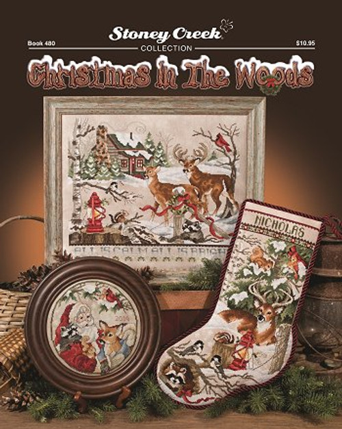 Christmas in the Woods Stoney Creek Counted Cross Stitch Patterns