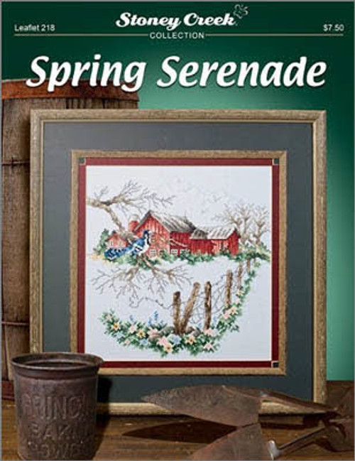 Spring Serenade Stoney Creek Counted Cross Stitch Pattern