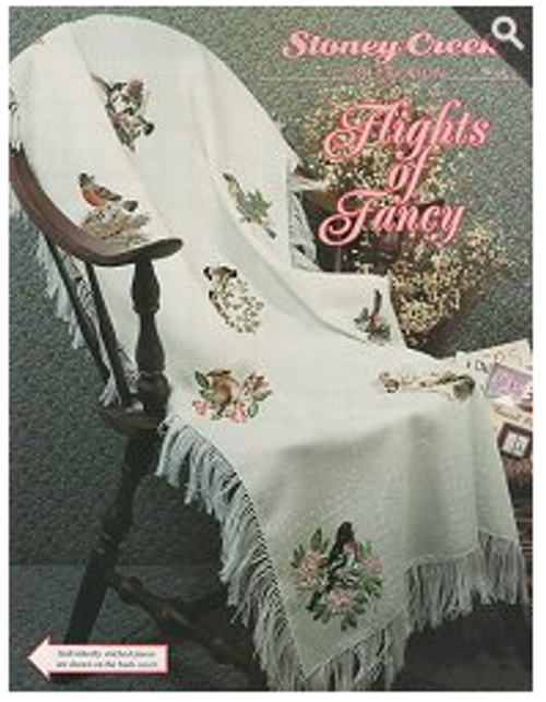 Flights of Fancy Stoney Creek Counted Cross Stitch Patterns