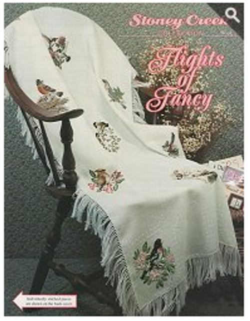 Flights of Fancy Stoney Creek Counted Cross Stitch Patterns