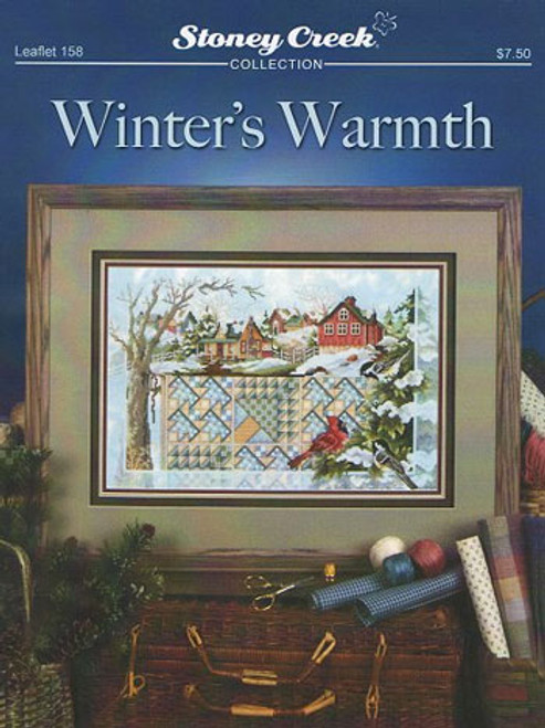 Winter's Warmth Stoney Creek Counted Cross Stitch Pattern