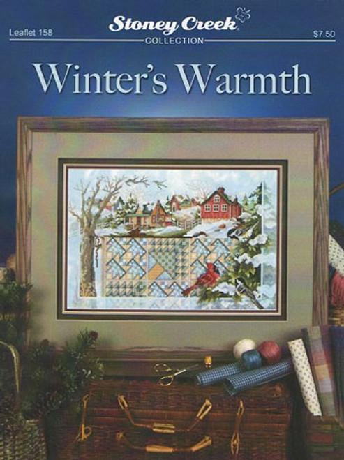 Winter's Warmth Stoney Creek Counted Cross Stitch Pattern