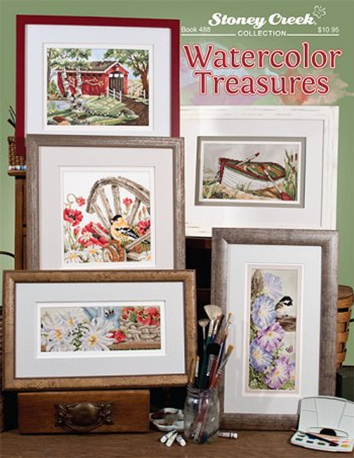 Watercolor Treasures Stoney Creek Counted Cross Stitch Patterns