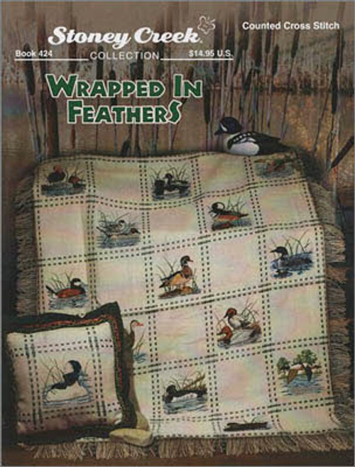 Wrapped in Feathers Stoney Creek Counted Cross Stitch Patterns