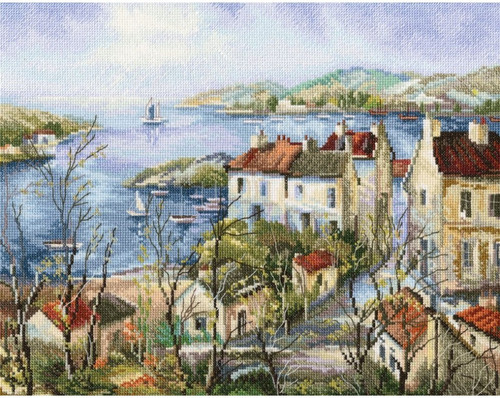 Calm Town By The Sea - RTO Counted Cross Stitch Kit