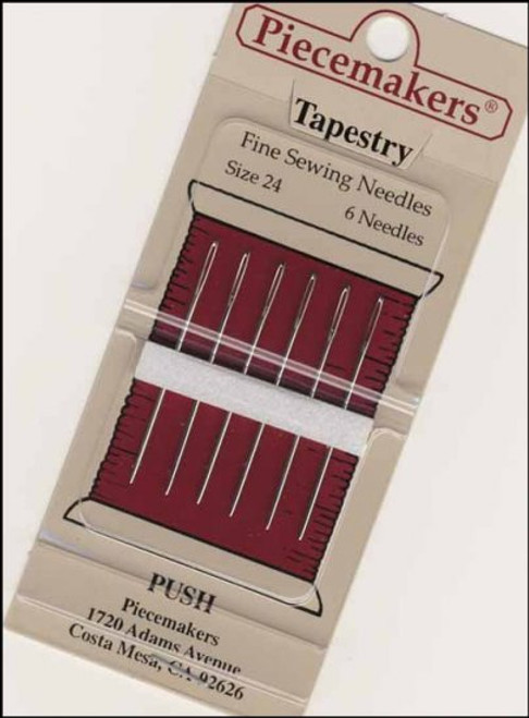 Piecemakers Size 24 Tapestry Needle