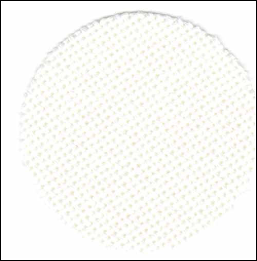 "25ct-Luguna-White-15.5"" x 55"" Evenweave Fabric"