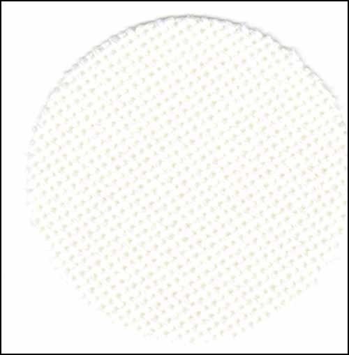 "25ct-Luguna-White-11"" x 55"" Evenweave Fabric"