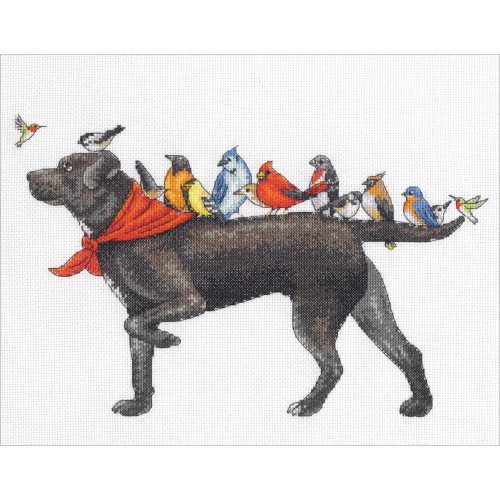 Bird Dog - Dimensions Counted Cross Stitch Kit
