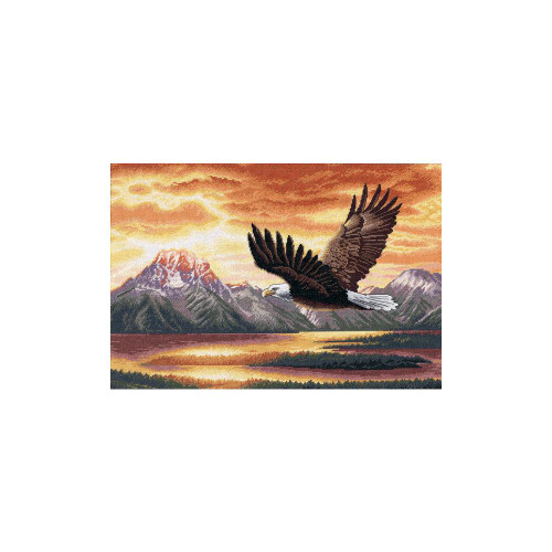 Silent Flight - Dimensions Gold Counted Cross Stitch Kit