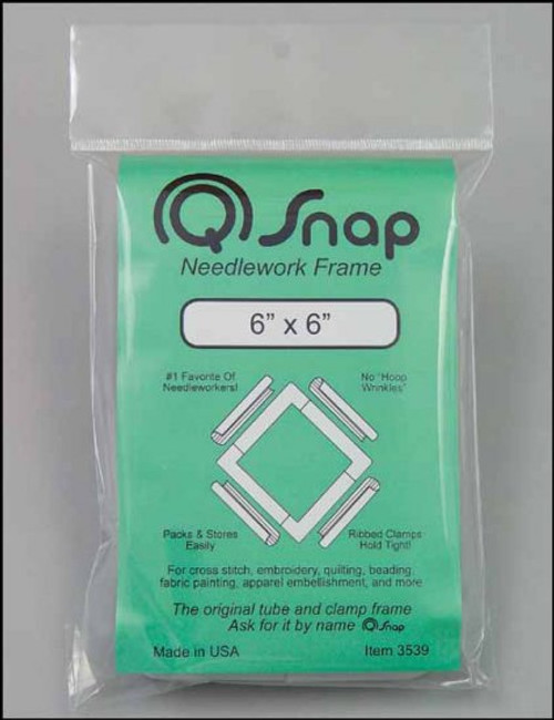 "Q Snap 6"" x 6"" Needlework Frame"