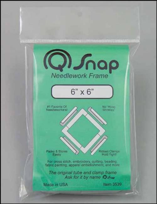 "Q Snap 6"" x 6"" Needlework Frame"