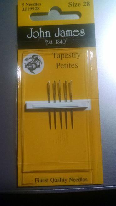 John James Tapestry Needle - Size 28 Petite
