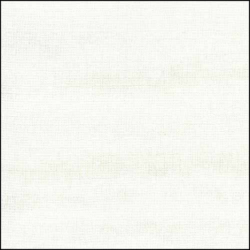 "28ct-Luguna-White-36"" x 55"" Evenweave Fabric"