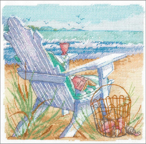 Tide View - Dimensions The Gold Collection Petites Counted Cross Stitch Kit
