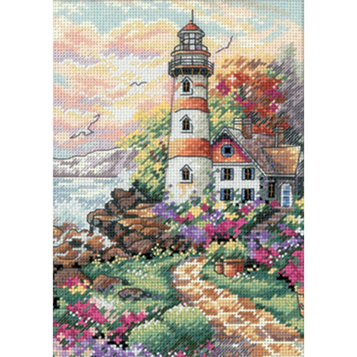Beacon at Daybreak Dimensions The Gold Collection Petites Counted Cross Stitch Kit