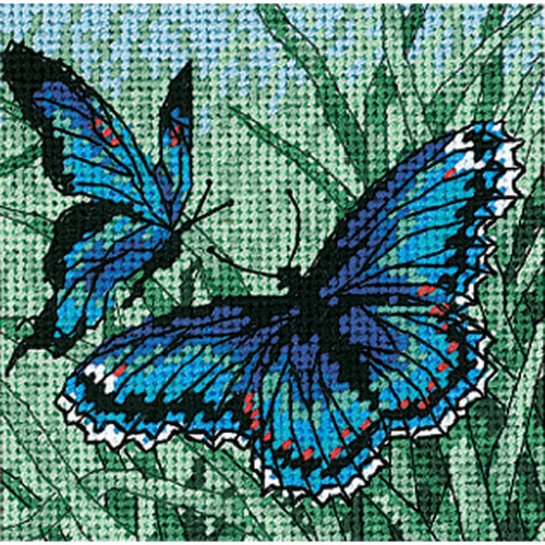 Butterfly Duo Dimensions Needlepoint Kit