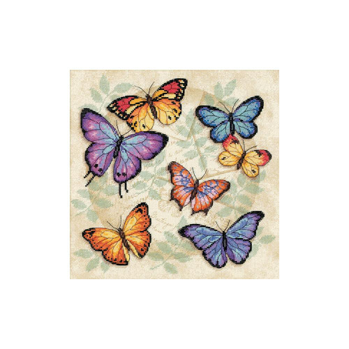 Butterfly Profusion Dimensions Counted Cross Stitch Kit
