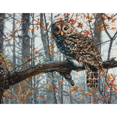 Wise Owl Dimensions Counted Cross Stitch Kit