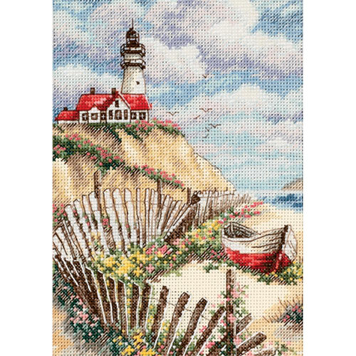 Cliffside Beacon Dimensions The Gold Collection Petites Counted Cross Stitch Kit