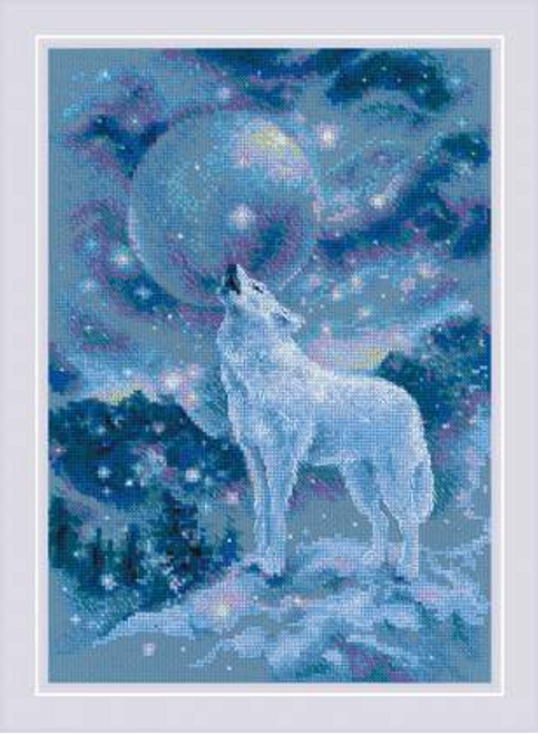 Ice-Cold Wind Riolis Counted Cross Stitch Kit