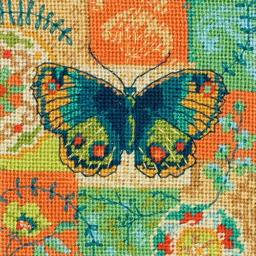 Butterfly Pattern Dimensions Mini Needlepoint Kit