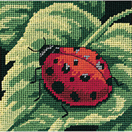 Ladybug, Ladybug Dimensions Mini Needlepoint Kit
