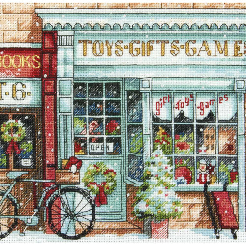 Toy Shoppe Dimensions The Gold Collection Petites Counted Cross Stitch Kit